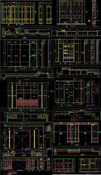 展厅细化图CAD