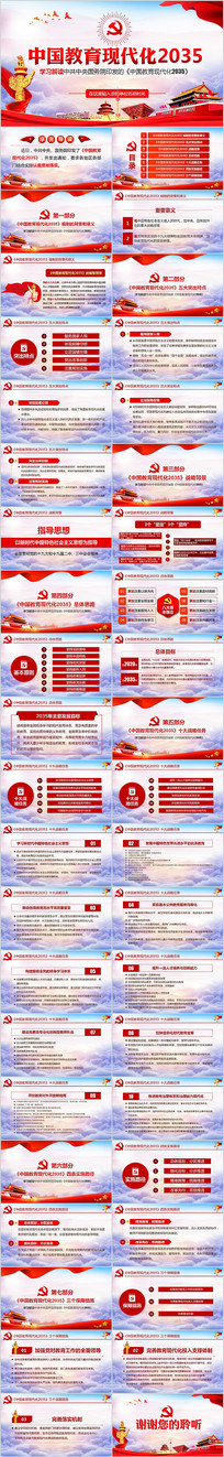 中国教育现代化2035教育现代化ppt