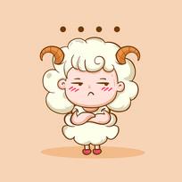 白羊座人物造型设计