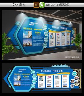 经典企业文化墙设计
