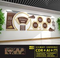敬老院老年活动室文化墙
