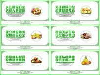 食品安全展板