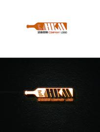简约酒吧logo设计