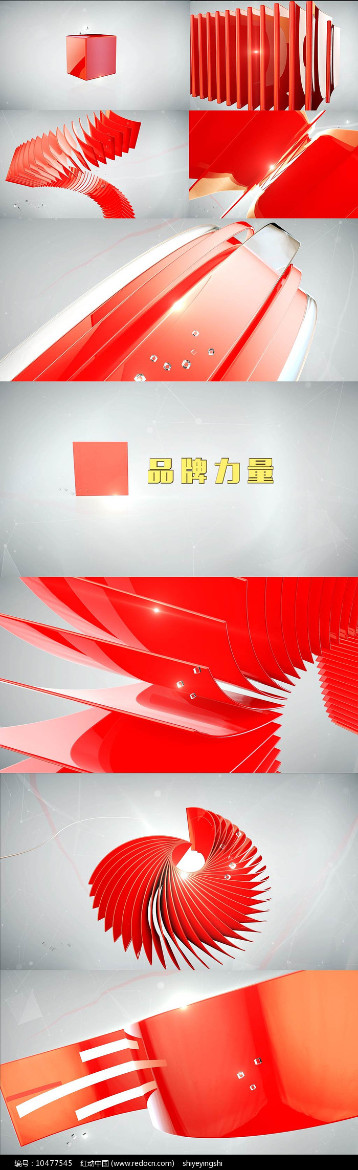 栏目包装动态视频模板图片