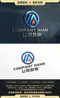 M字母LOGO设计M字母标志 CDR