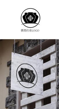 酒类LOGO标志设计 AI