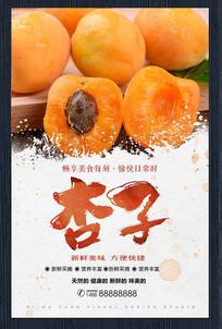 新鲜杏子宣传海报