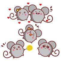 原创卡通老鼠