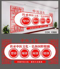 传承中医文化文化墙设计
