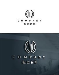 时尚公司logo设计 AI