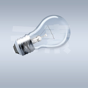 写实电灯泡