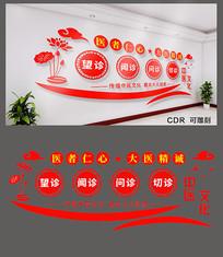 中医文化文化墙设计