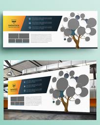 企业文化展板照片墙