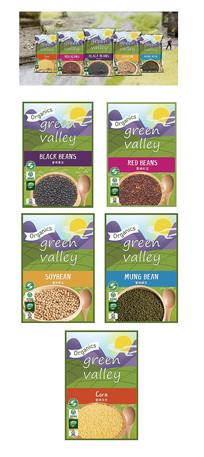 大米五谷杂粮系列包装设计