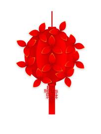 喜庆大红创意灯笼