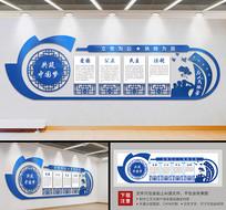 公安警营为人民服务党建文化墙
