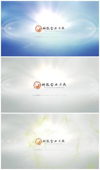 简洁干净logo视频模板