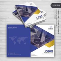 简约企业产品画册封面模板