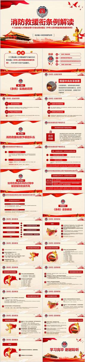 消防救援衔条例学习解读消防部队PPT
