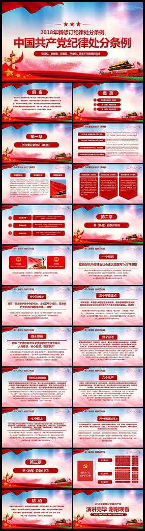 学习解读中国共产党纪律处分条例党课PPT