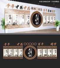 中医养生馆文化墙