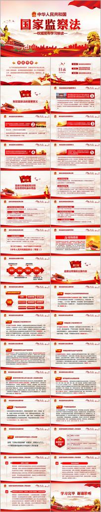 中华人民共和国监察法学习解读PPT