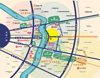 成都东地产区域图