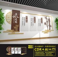 家风家训文化长廊文化墙设计