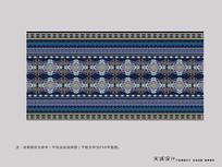 民族风地毯图案设计