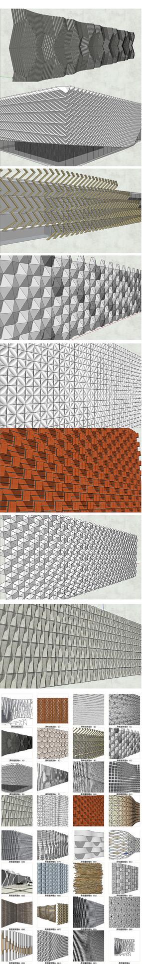 异形建筑墙