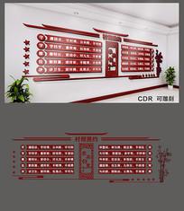 村规民约社区文化墙设计