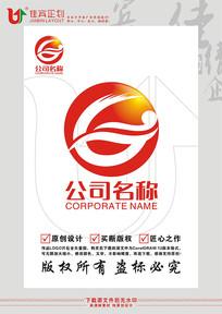 GZ英文字母大海标志设计 CDR