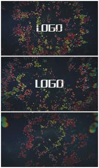 化学病毒lgoo演绎视频模板