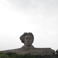 假山大人头雕塑