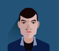 原创人物头像设计 男人头像素材扁平化元素