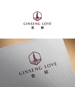 人参企业logo设计