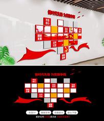党政机关政府党员风采党建照片墙文化墙