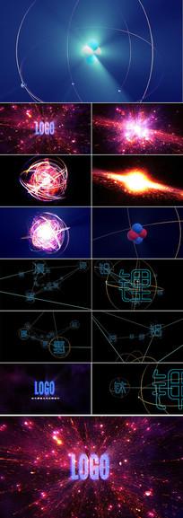 原子核宇宙大爆炸AE视频模板