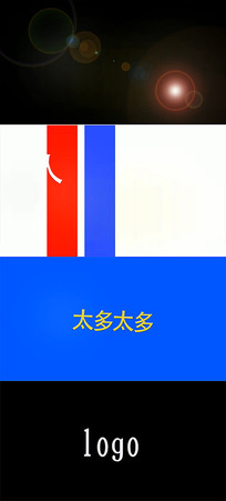 2019震撼炫酷快闪文字AE模板