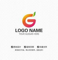 G字母网站农林LOGO设计