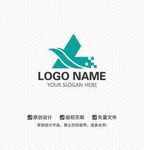 L字母服饰LOGO设计