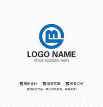 MG字母商务金融LOGO设计