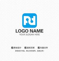PD字母APP软件LOGO设计