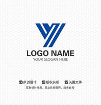 Y字母工业LOGO设计