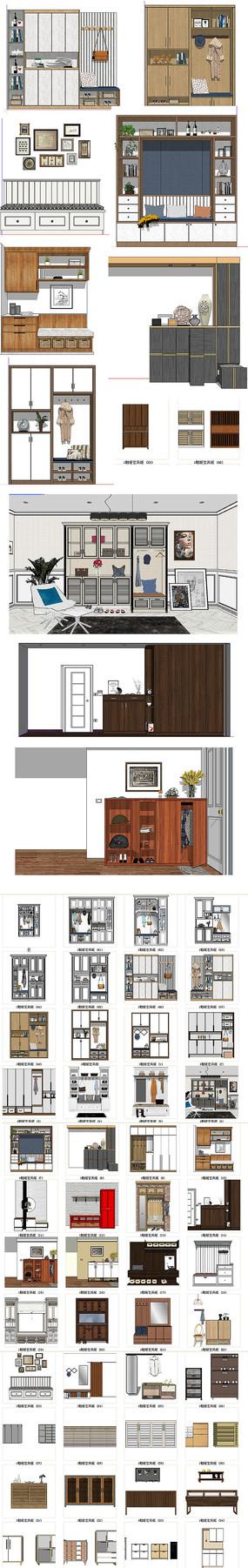 家居柜子模型