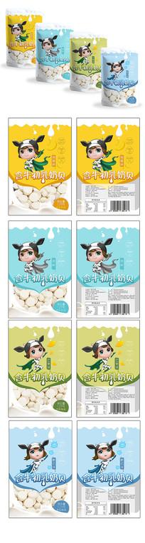 奶贝包装设计