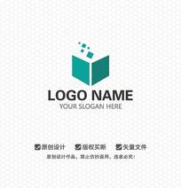 书籍文化LOGO设计
