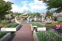 庭院广场景观效果图