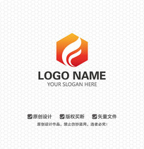 F字母文化LOGO设计