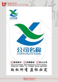 LX英文字母标志设计